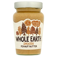 Whole Earth Smooth Peanut Butter 340g - 340g - Whole Earth