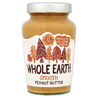 Whole Earth Smooth Peanut Butter 454g - 454g - Whole Earth