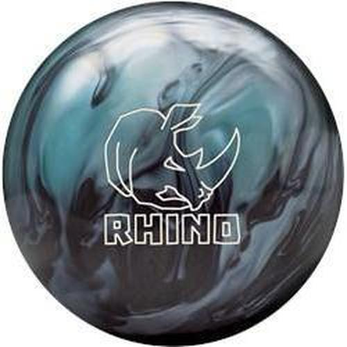 Brunswick Rhino Metallic Blue Black Pearl Bowling Ball