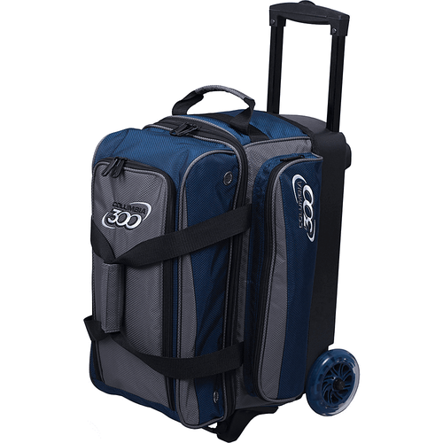 Navy Charcoal Columbia Icon Double Roller Bowling Bag