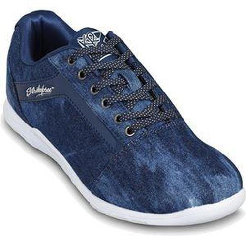 KR Womens Nova Lite Denim Sparkle Bowling Shoes