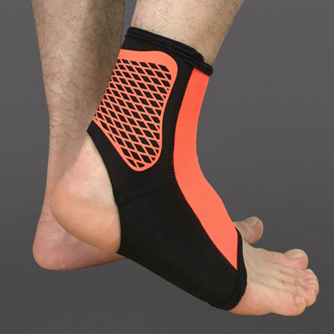 1PCS Sports Ankle Support  Pads Elastic Brace Guard Foot  Protector Wrap For Bicycle Football Taekwondo Basketball