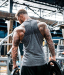 Shirt Sleeveless Sports Top Men Running Vest Male Fitness Tanktop Cotton Mens Bodybuilding Vest Joggers Gym Man Undershirt