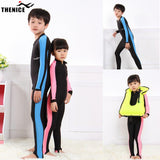 Kids Diving Suits Children Swimwear Long Sleeves Girls Boys Surfing Snorkeling Swimming Wetsuit