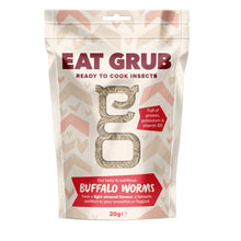 Load image into Gallery viewer, Eat Grub Cooking Series Small Buffalo Worm 20g
