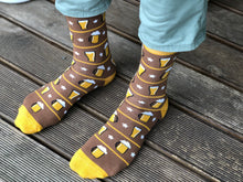 Load image into Gallery viewer, Beer Socks - Funny Socks For Men