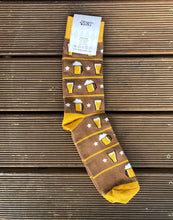 Load image into Gallery viewer, Beer Socks - Funny Socks For Men - socks for October fest