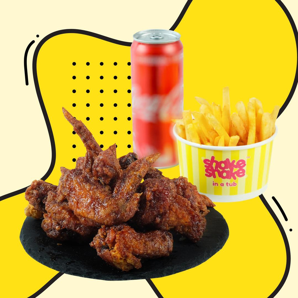 Shake Shake Chicken - 4pcs
