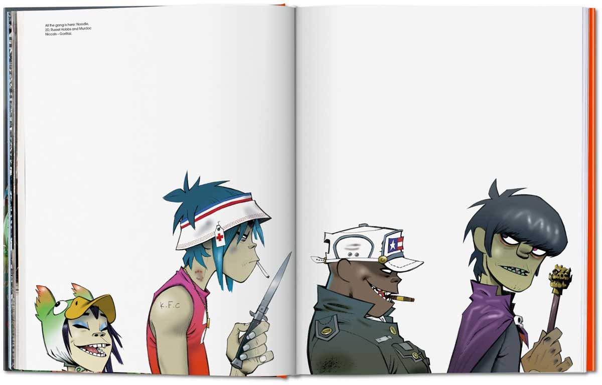 Jamie Hewlett Gorillaz The Quiet Before Blog