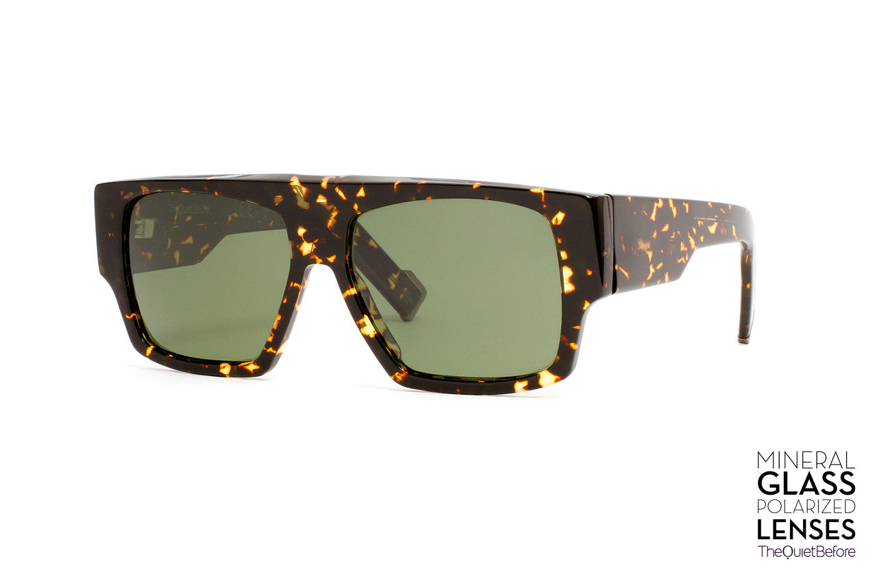 ea914fe5315 Sunglasses Mao - Shiny Brown Tortoise - Forest Polar - The Quiet Before