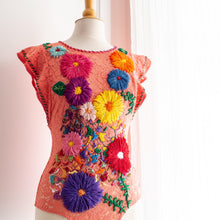 Load image into Gallery viewer, Floral Embroidered Bodysuit