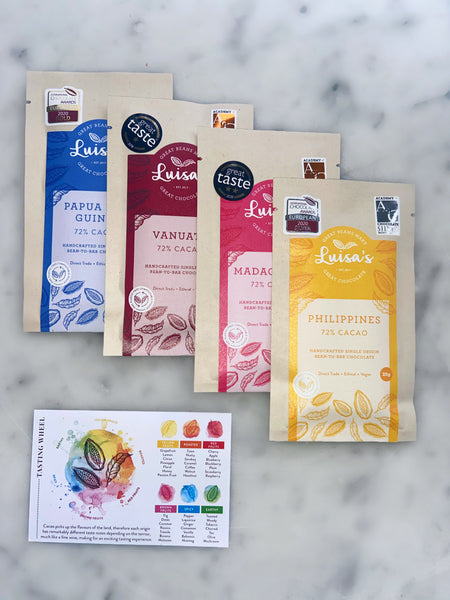 Award-Winning 72% Single Origin Tasting Bundle