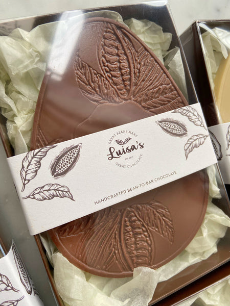 Artisan Chocolate 'Easter Egg' Casholate M*lk Chocolate