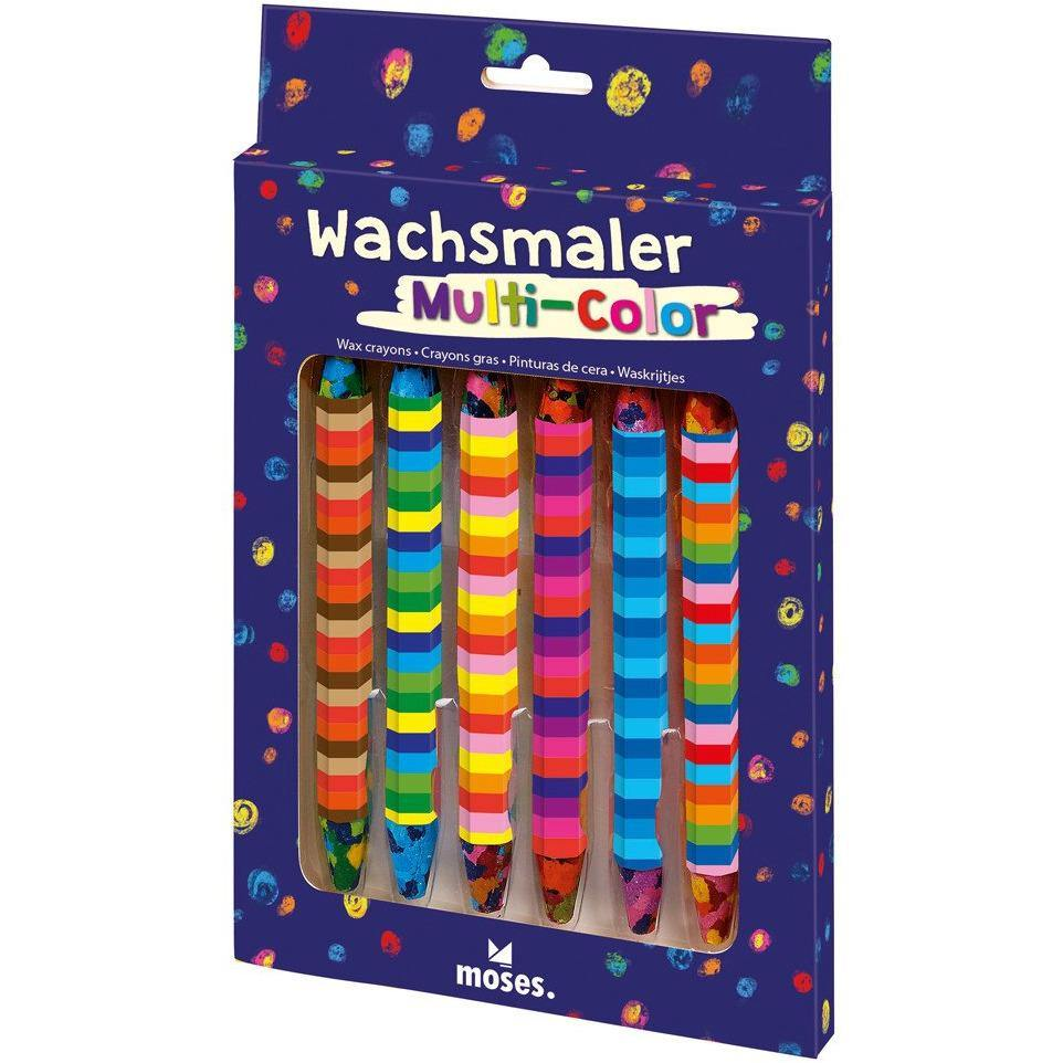 Wachsmaler Multi-Color Midnight Blue Moses