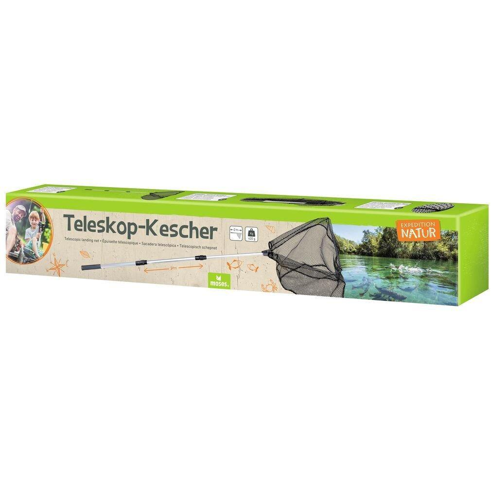 Expedition Natur Teleskop-Kescher Yellow Green Moses