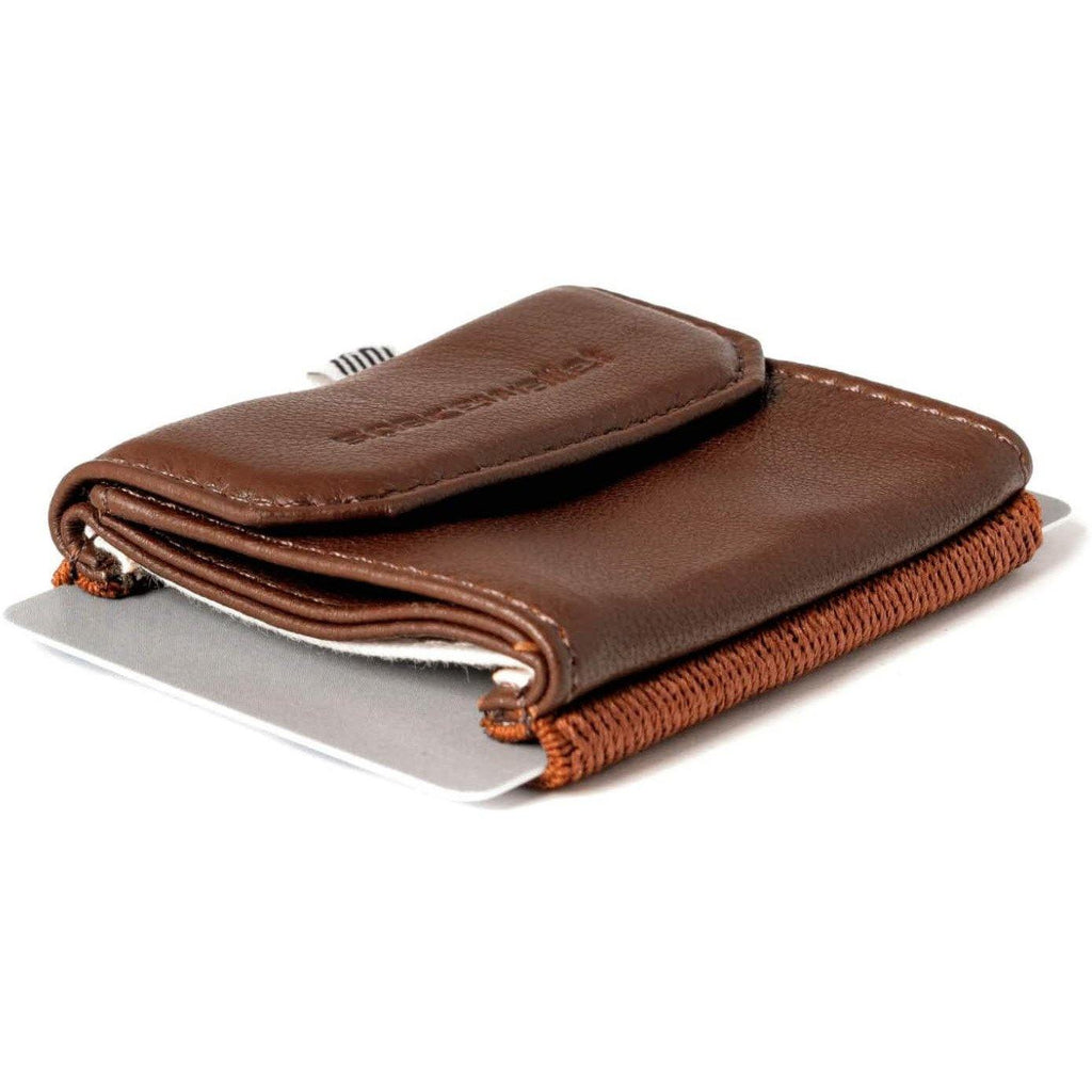 Space Wallet Push Dark Olive Green Space Wallet