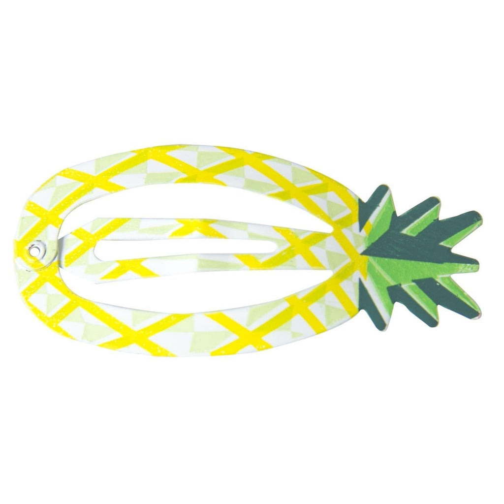 Haarclips Tropical Yellow Global Affairs