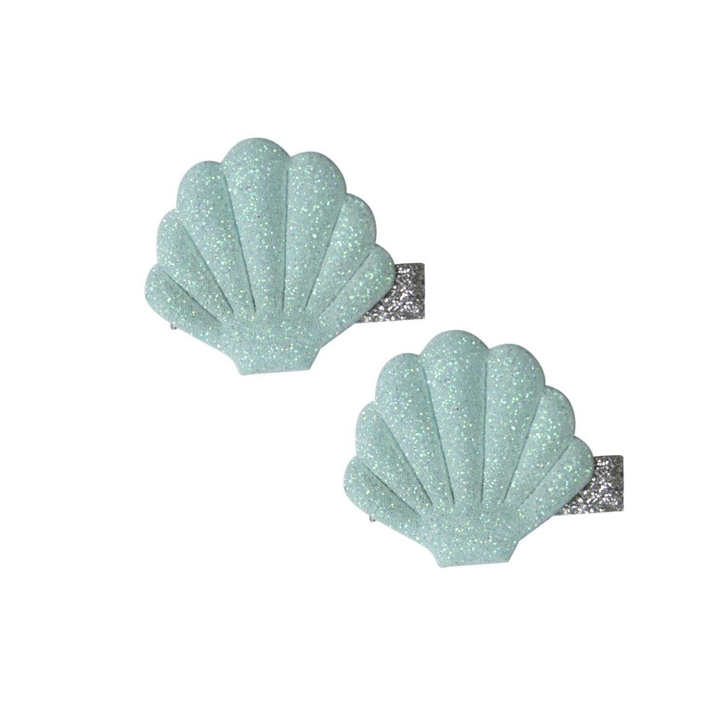Haarclips Muscheln Gray Global Affairs