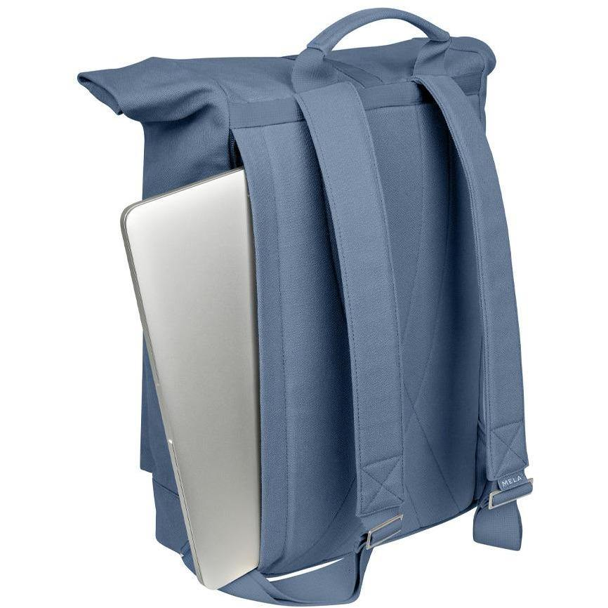 Rucksack AMAR - dusty blue Slate Gray mela