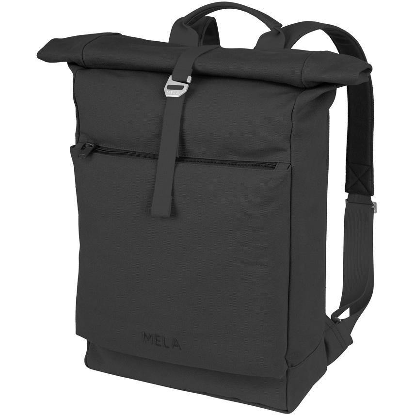 Rucksack AMAR - all black Dark Slate Gray mela