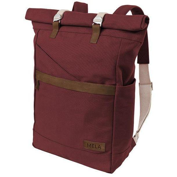 Backpack ansvar I burgundy red Dark Slate Gray mela