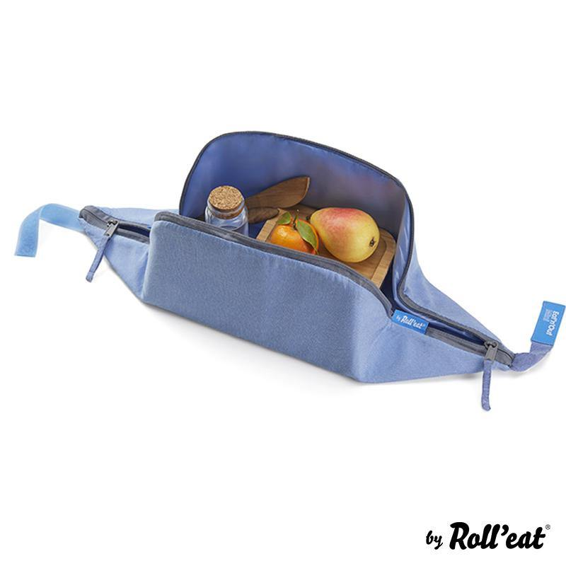 Eat'n'Out Mini - Eco Blue Slate Gray RollEat