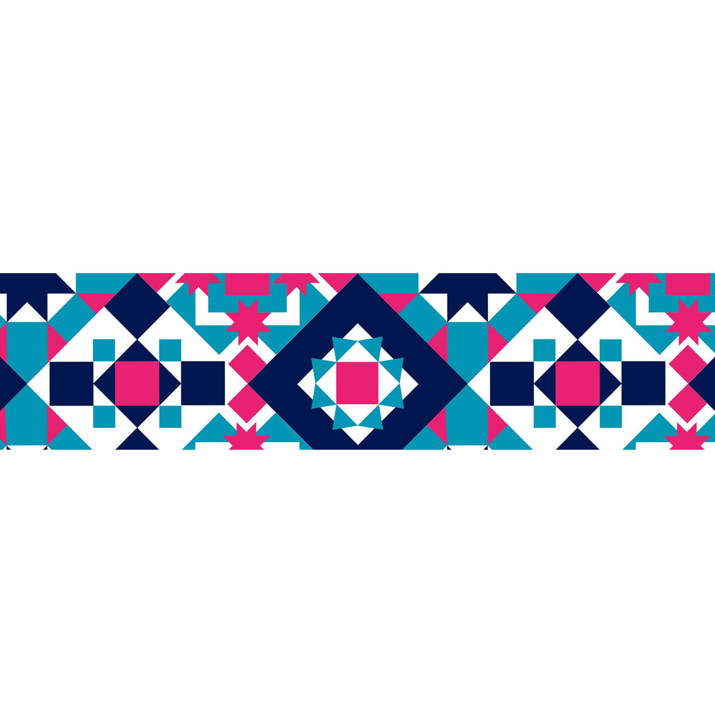 MASTÉ Washi-Tape Bohemian Tile Midnight Blue Masté