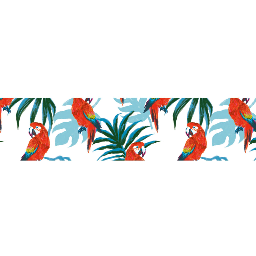 MASTÉ Washi-Tape Animal Parrot Sky Blue Masté