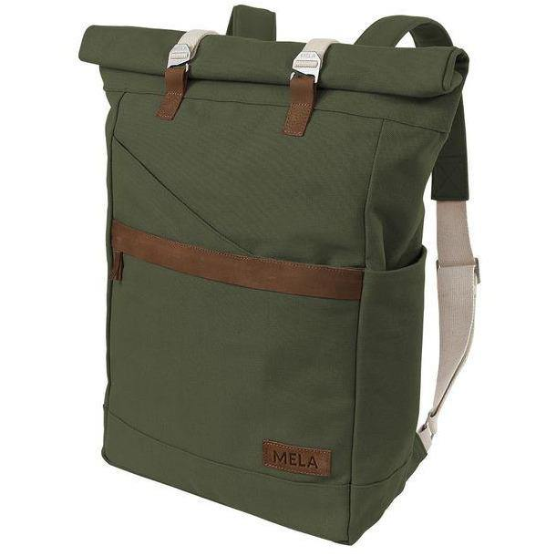 Backpack ansvar I olive green Dark Olive Green mela