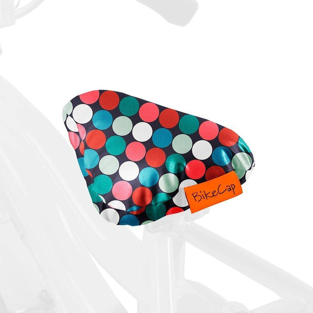 BikecapKIDS – Multidots Basic Orange Red Bikecap