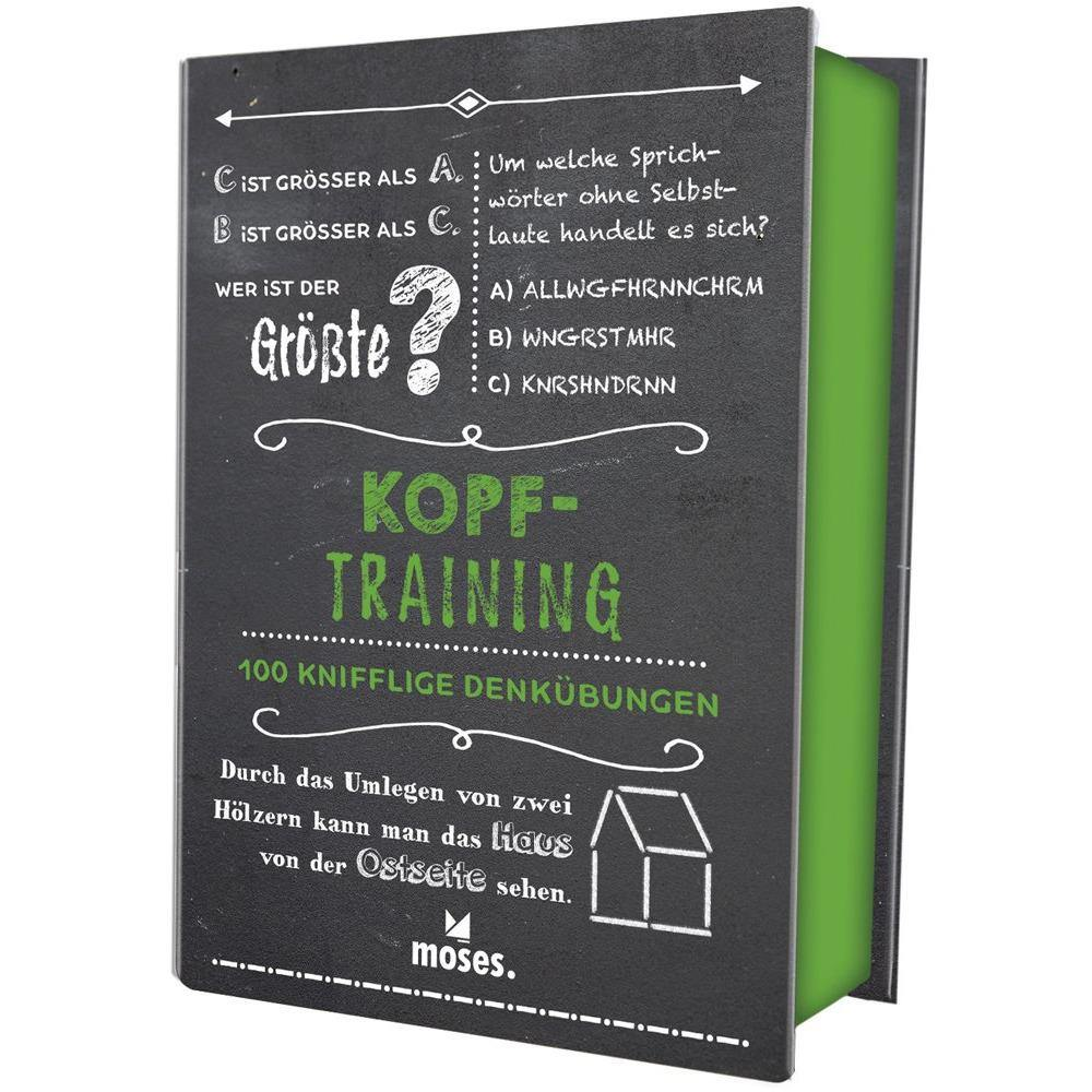 Quiz-Box Kopf-Training Dark Slate Gray Moses