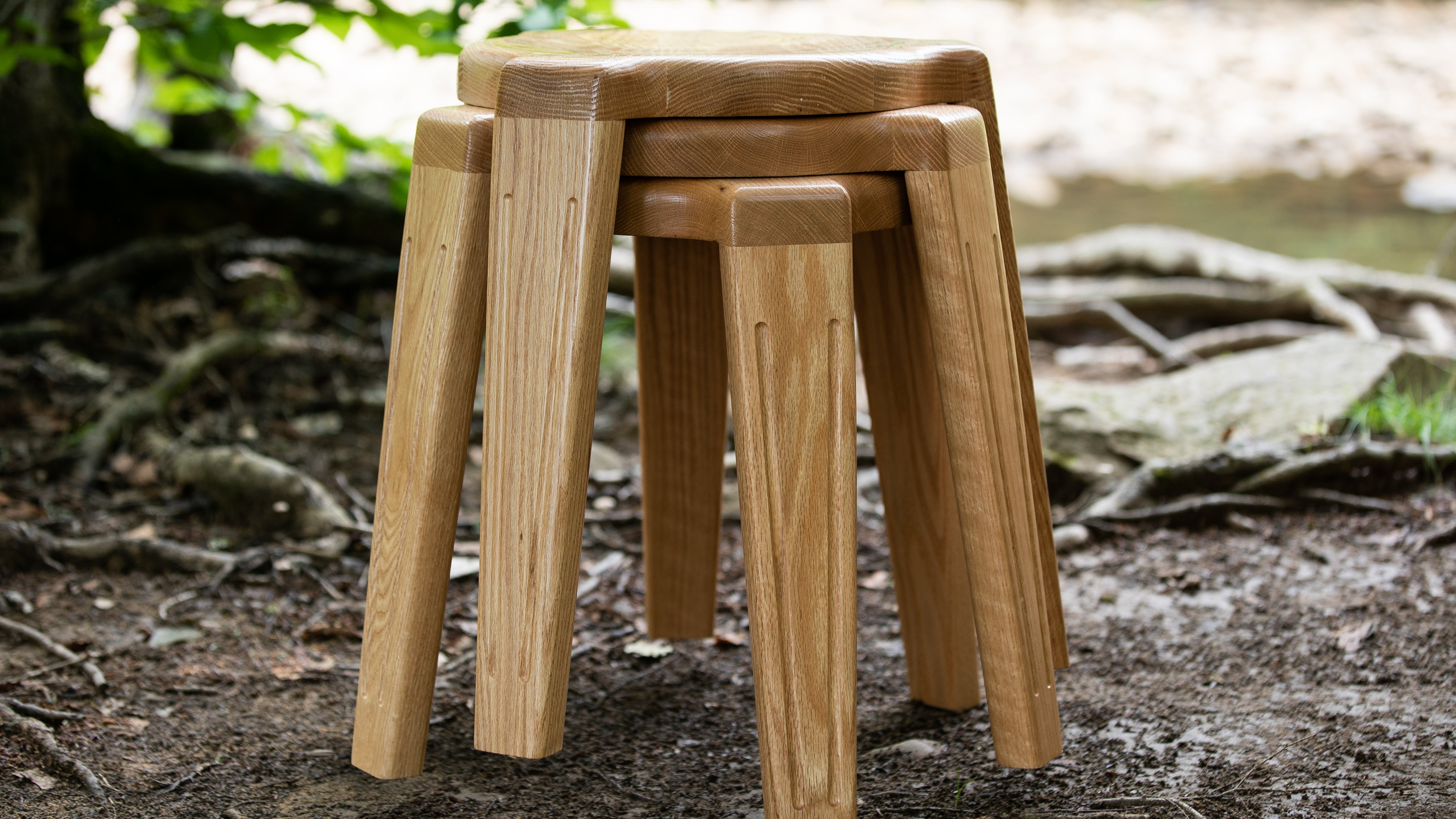 Stackable Round Stool