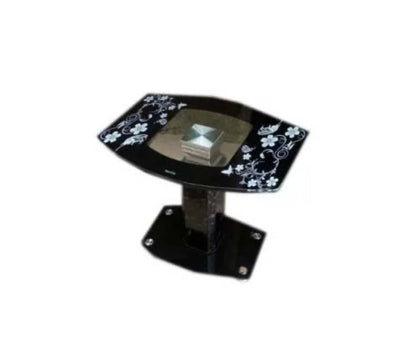 Tempered Glass Side Coffee Stool