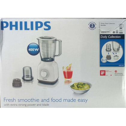 Philips 1.5 Liters 400 Watts Blender (3 in 1) | HR2102