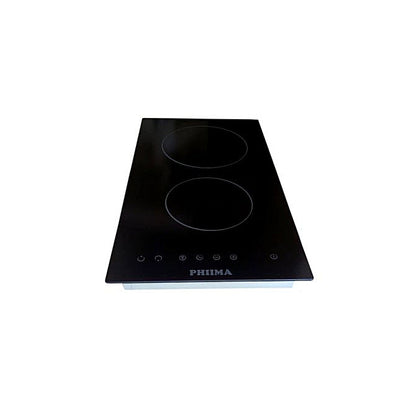 Philma  60Cm Built In 2 Burner Ceramic Electric Hob