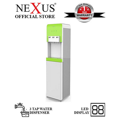 Nexus  3 Tap Water Dispenser With Led Indicator Green - NX-103GR