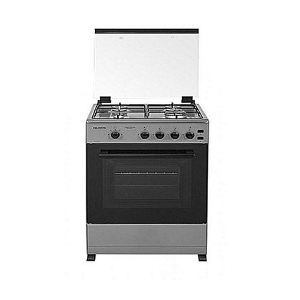 Polystar  Pvhs 50Gg16. 4 Burner All Gas Cooker With Gas Oven And Grill (Stainless }