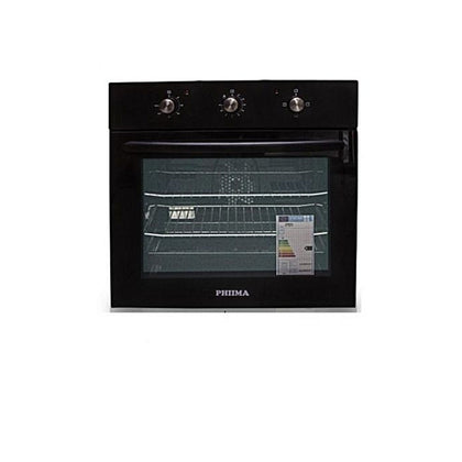 Philma  Built In Electric Oven Black