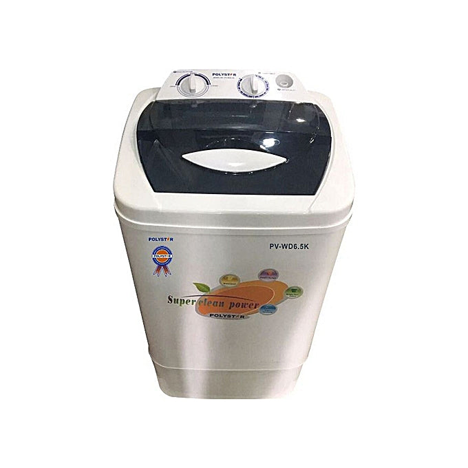 Polystar  6.5 Kg Manual Washing Machine PV-WD6.5K
