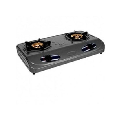 HAIER THERMOCOOL DOUBLE BURNER TABLE TOP GAS COOKER TGC-2TA