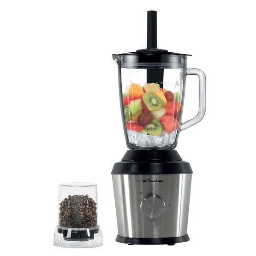 Binatone 1.5 Liters Blender/Grinder With Stick (Glass Jar) | BLG-600S (Mk2)