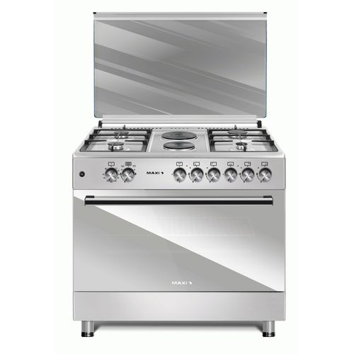Maxi Style 60*90 (4+2) Inox. 4 Gas + 2 Electrical Gas Cooker