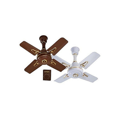 Qasa Short Blade Ceiling Fan 24 Inches