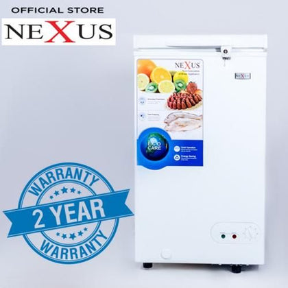 Nexus 100L Chest Freezer| NX-150C White