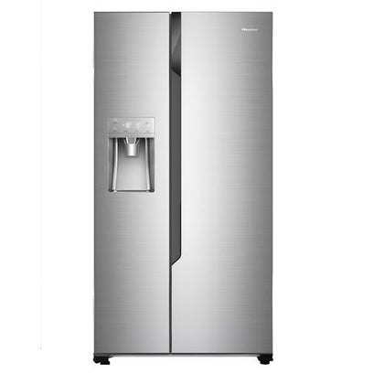 Hisense 535 Liters Side By Side Refrigerator with Ice and Water Dispenser | REF 70 WS