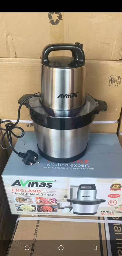 AVINAS ELECTRIC MEAT GRINDER