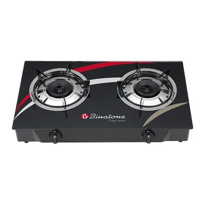 Binatone Table Top Glass Gas Cooker | GGC-0002