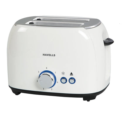 Havells Crust Pop-Up Toaster 800-WATT (WHITE)