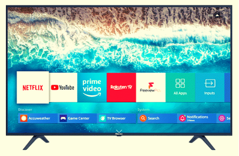 Hisense 55 Inches 4K UHD Smart TV with JBL Sound System   TV 55 A7800