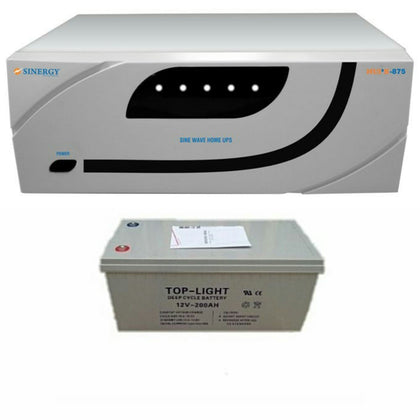 Sinergy  875KVa/12V Pure Sine Wave Inverter with one Inverter battery